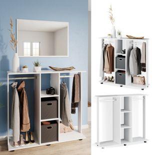 Vicco mobiler Kleiderschrank Garderobenschrank Robbie Dielenschrank Schlafzimmer - Bild 1