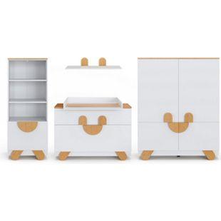 Vicco Kinderzimmer Set Compo-Serie Kleiderschrank Wickelkommode Kinderregal - Bild 1