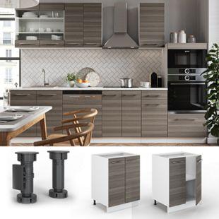 VICCO Unterschrank 60 cm Küchenschrank Hängeschrank Küchenzeile Fame-Line - Bild 1