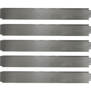 Rasenkante 5m 100x14cm verzinkt Beeteinfassung Beetumrandung Mähkante Metall Palisade - Bild 1