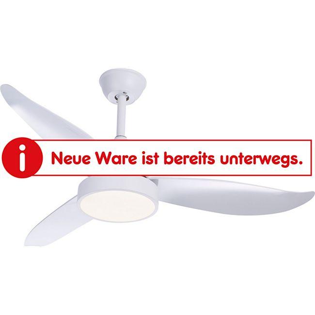 Ventilator Metall weiß, 1xLED - Bild 1