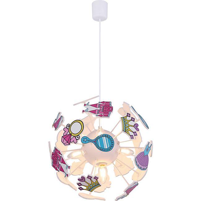 Globo Lighting LURRA Hängeleuchte Kunststoff weiß, 4xE14 - Bild 1