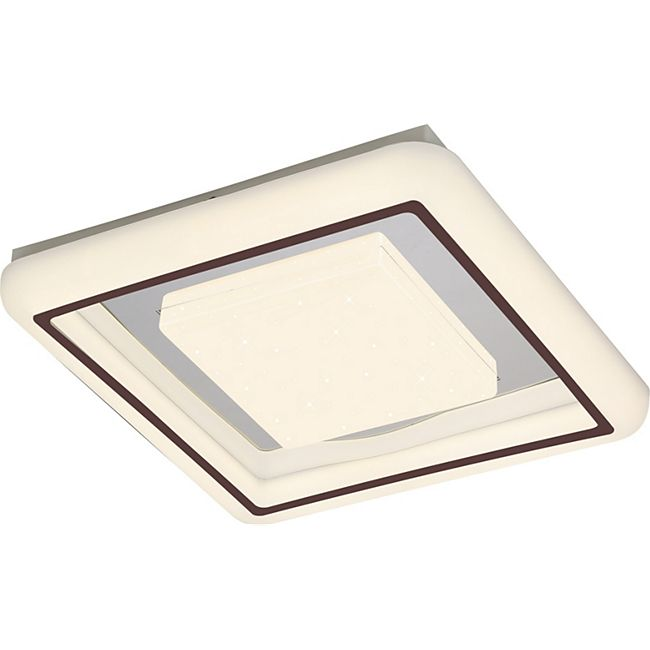 Globo Lighting MANTA Deckenleuchte Metall weiß, 1xLED - Bild 1