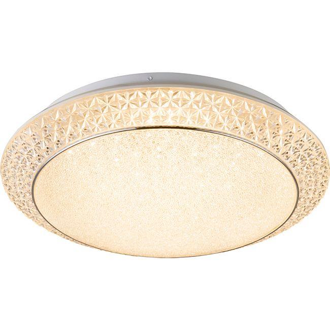Globo Lighting RONJA Deckenleuchte Metall weiß, 1xLED - Bild 1