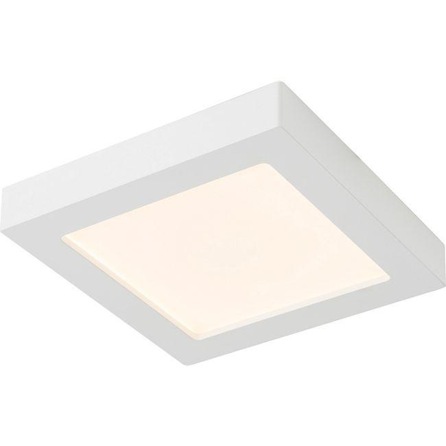 Deckenleuchte Kunststoff weiß, 1xLED - Bild 1