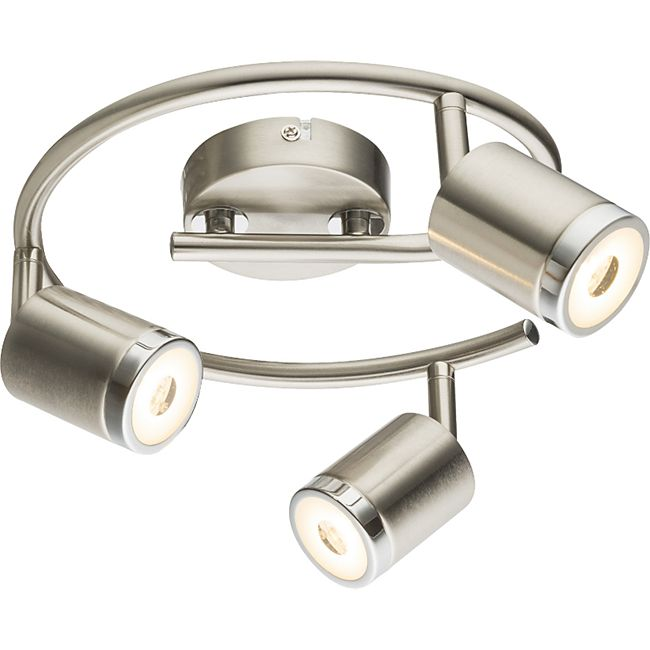 Globo Lighting COMORE LED Strahler nickel matt, 3xLED - Bild 1