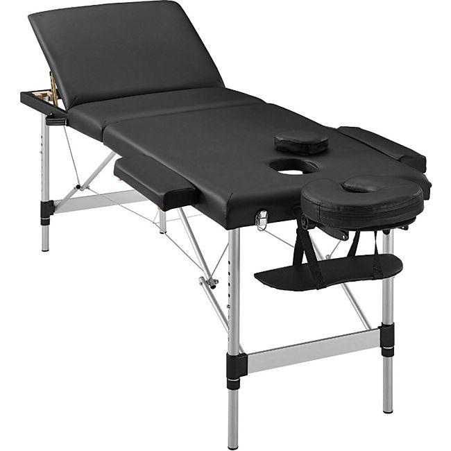 ArtSport Massageliege Aluminiumgestell (schwarz) 180 x 60 cm - Bild 1