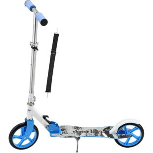 ArtSport Scooter Cityroller Skaterboy Jungen Big Wheel 205mm Räder klappbar höhenverstellbar - Bild 1
