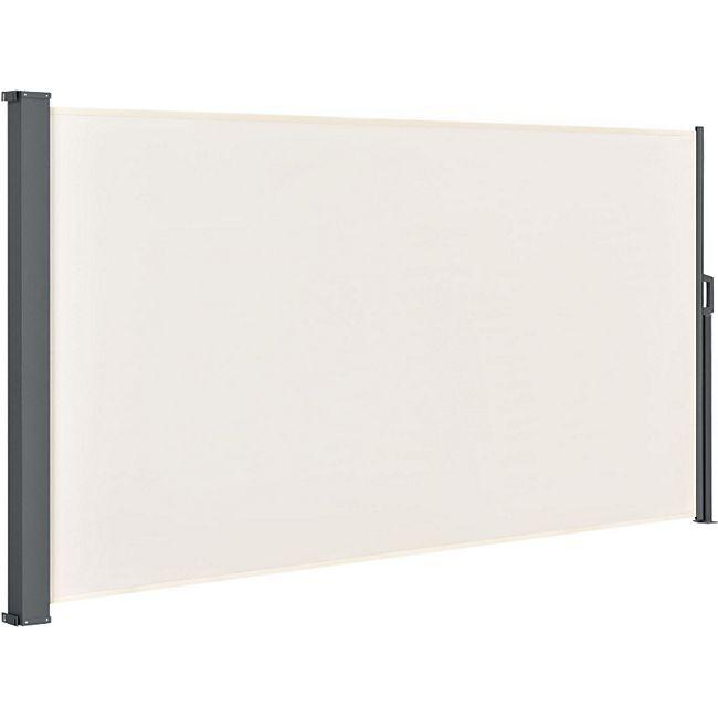 Seitenmarkise Dubai 300 x 160 cm ausziehbar blickdicht, Sichtschutz & Windschutz beige | Artlife - Bild 1
