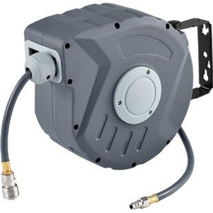 Juskys Druckluftschlauch Aufroller mit Automatik Pressure 10m zur Wandmontage - Bild 1