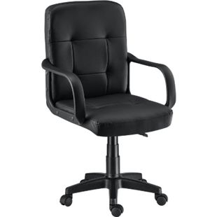 Bürostuhl Pensacola ergonomisch mit Armlehnen & Rollen – höhenverstellbar & bis 120 kg | ArtLife - Bild 1