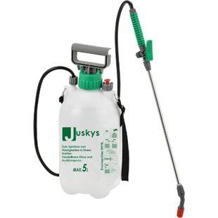 Juskys Drucksprüher DSF5L 5 Liter Kunststoff – Drucksprühgerät inkl. Schlauch, Schultergurt - Bild 1
