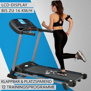 ArtSport Laufband Speedrunner SR1620 elektrisch klappbar | 16 km/h Geschwindigkeit | 12 Programme - Bild 1