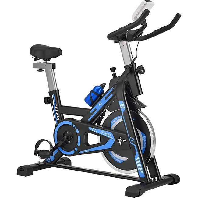 ArtSport Speedbike RapidPace mit Smartphone Halterung, Computer & Pulsmesser| 10 kg Schwungmasse - Bild 1