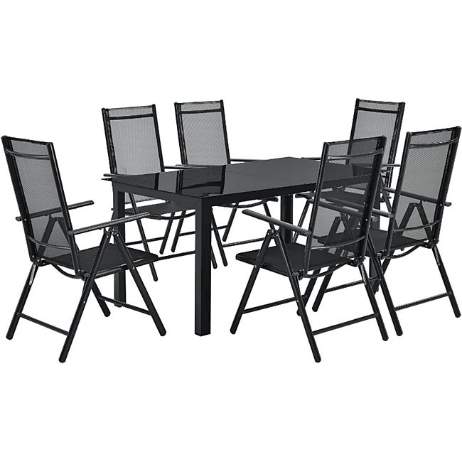 Artlife Aluminium Gartengarnitur Milano Gartenmobel Set Mit Tisch