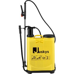 Juskys Drucksprüher DSF16L 16 Liter – Drucksprühgerät inkl. Schlauch, Schultergurt & Pumphebel - Bild 1