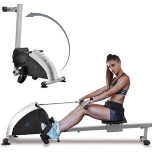 Rudergerät Musculara klappbar für zuhause - 8 Schwierigkeitsgrade, Digitalanzeige, 100 kg | Artsport - Bild 1