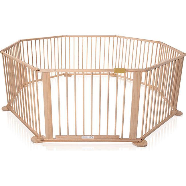 Baby Vivo Laufgitter aus Holz 8 Elemente - WOODY - Bild 1