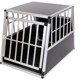 zoomundo Hundetransportbox / Kofferraumbox aus Aluminium - 1-Türig Premium - Bild 1