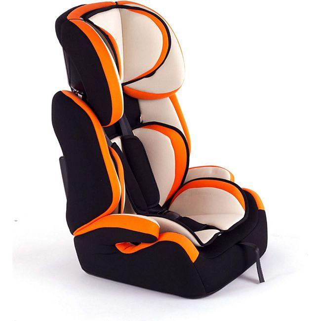 Baby Vivo Kindersitz / Autositz TOM von 9-36 kg für Gruppe 1+2+3 in Orange/Creme - Bild 1