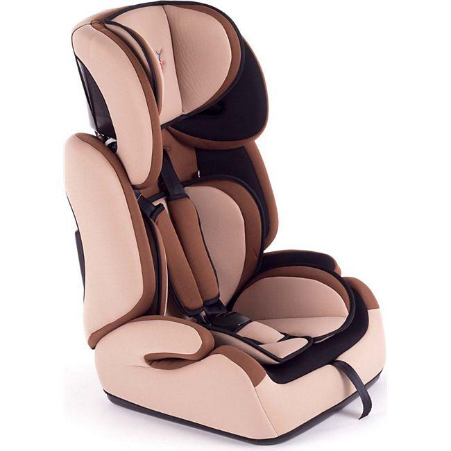 Baby Vivo Kindersitz / Autositz TOM von 9-36 kg für Gruppe 1+2+3 in Braun/Beige - Bild 1