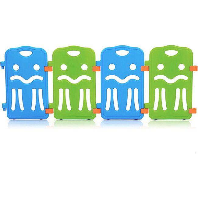 Baby Vivo Zusatzpaket für Laufgitter aus Kunststoff COLORS - Erweiterbar - Bild 1