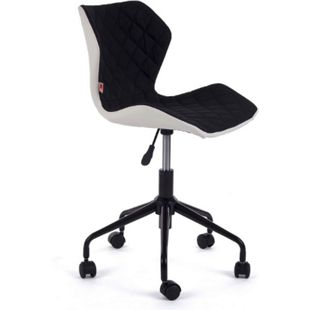 MY SIT Bürostuhl Design-Hocker Drehstuhl Stuhl INO Schwarz/Weiss - Bild 1