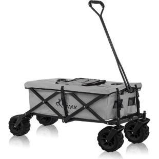 SAMAX Faltbarer Bollerwagen Offroad Cool - Grau - Bild 1