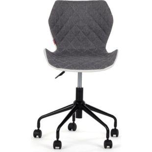 MY SIT Bürostuhl Design-Hocker Drehstuhl Stuhl INO Grau/Weiss - Bild 1