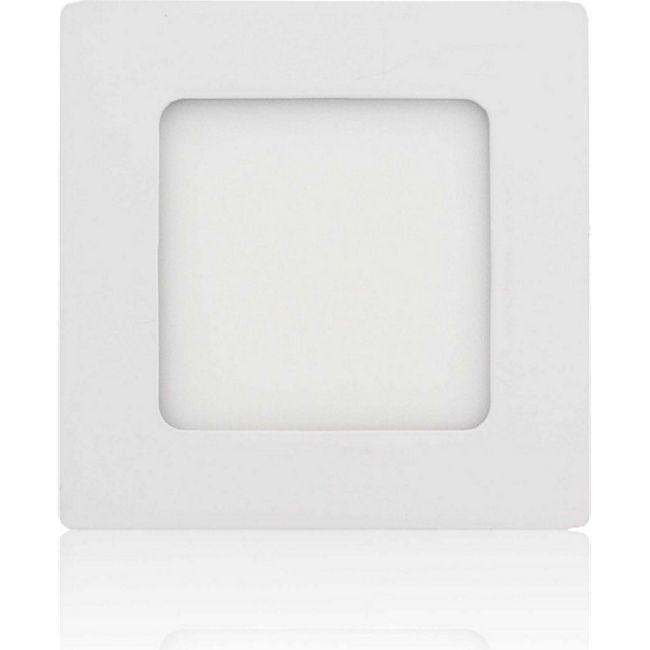 MAXCRAFT LED Panel Strahler Lampe 6W 120 x 120 mm - Warmweiß - Bild 1