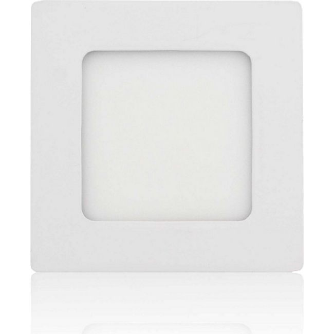 MAXCRAFT LED Panel Strahler Lampe 6W 120 x 120 mm - Kaltweiß - Bild 1