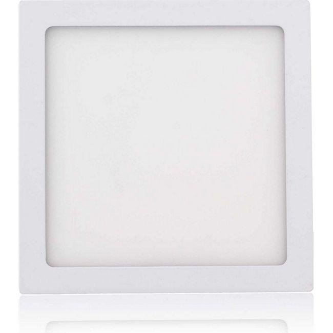 MAXCRAFT LED Panel Strahler Lampe 18W 225 x 225 mm - Kaltweiß - Bild 1