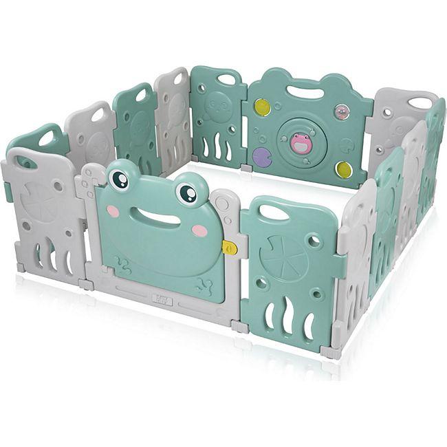 Baby Vivo Laufgitter aus Kunststoff 14 Elemente - Fridolin - Bild 1