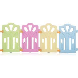 Baby Vivo Zusatzpaket für Laufgitter aus Kunststoff mit Tür - Bild 1
