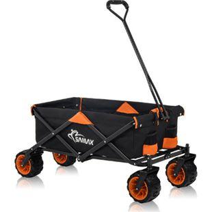 Bollerwagen Color - Schwarz/Orange - Bild 1