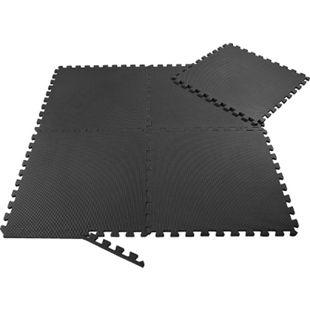 SAMAX EVA Schutzmatten Fitnessmatten Set 60x60 cm - 8 Stück in Schwarz - Bild 1