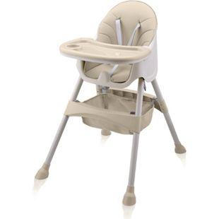 Baby Vivo Design 2in1 Kinderhochstuhl - Oscar in Beige - Bild 1