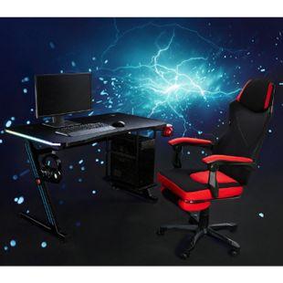 MY SIT Gaming Tisch Gizmo mit LED Beleuchtung - Bild 1
