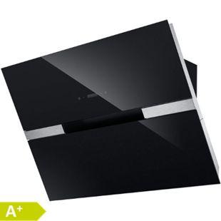 PKM 9080BZ 90cm Dunstabzugshaube hochglanz schwarz Schräghaube LED - Bild 1