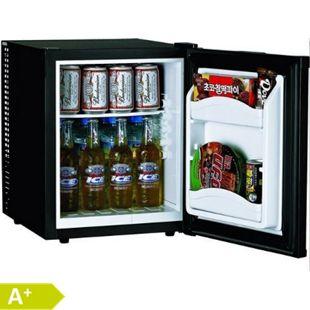 Hotel Mate MC35 A+ Kühlschrank geräuschlos schwarz Minibar Weinfach - Bild 1