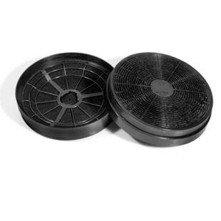 2x Aktivkohlefilter PKM CF110 - Kohlefilter-Set respekta MIZ 0023 - Bild 1