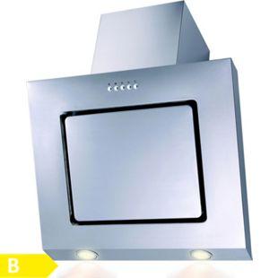 SH60-IX Dunstabzugshaube Edelstahl LED Randabsaugung 60cm Schräghaube - Bild 1