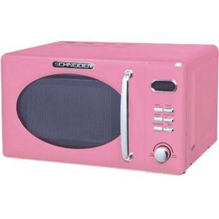 Schneider MW720 SP pink RETRO Mikrowelle 700Watt 20l nostalgie - Bild 1