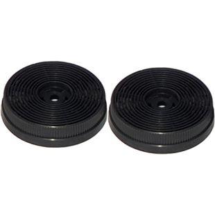 2x Aktivkohlefilter PKM CF140 - Kohlefilter-Set für S13-60 BBPY - Bild 1