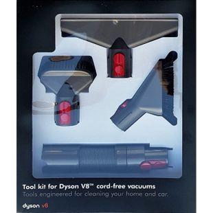 Dyson V7 V8 V10 Zubehör-Set Polsterdüse extra Schlauch Bürste - Bild 1