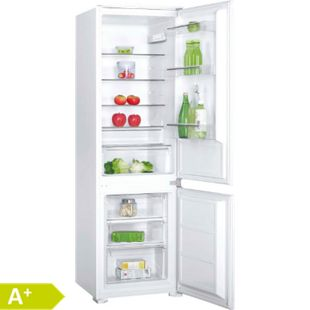 PKM KG250.4A+EB Kombi Einbaukühlschrank 259L Schlepptür Kühlschrank - Bild 1