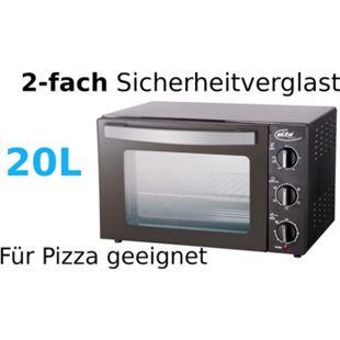 Backofen Elta 20 L MBO-1500.1 Camping Ober Unterhitze 2-fach verglast - Bild 1
