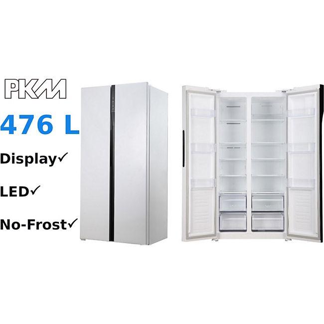 PKM SBS436.4A+NF SI Side by Side Kühlschrank 472L NoFrost LED - Bild 1