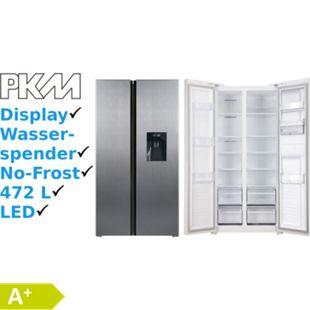 PKM SBS472.4A+NFWDIX Side by Side mit Wasserspender Kühlschrank 472L - Bild 1