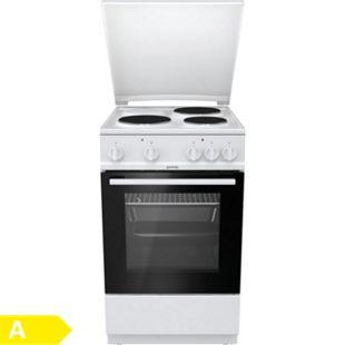 Gorenje E5120WL 50cm Standherd freistehend elektrischer Ofen Kochfeld - Bild 1
